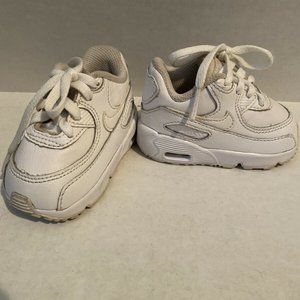 Nike Air Max 90 LTR White Running Shoes 3C toddler